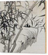 Leaf C Wood Print