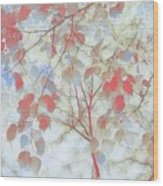 Leaf Me 4 Wood Print