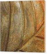 Leaf Structur Wood Print