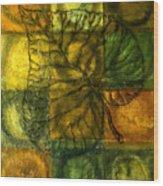 Leaf Whisper Wood Print