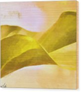 Leaf Y Wood Print