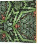 Leafy Greens Wood Print