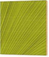 Leafy Leaf Wood Print