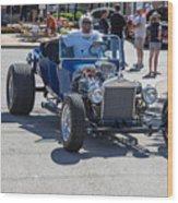 Leander Texas Car Show Riding High Wood Print