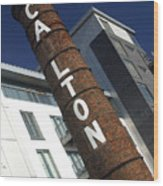 Leaning Tower Of Carlton Wood Print