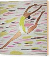 Leap Wood Print
