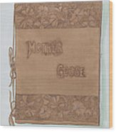 Leather Book Cover Wood Print