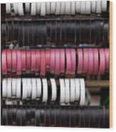 Leather Bracelets Wood Print