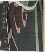 Leather Chain Wood Print