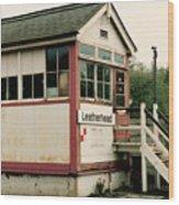 Leatherhead Station Wood Print