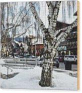 Leavenworth Lights Remain Wood Print