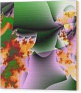 Leaves And Carpels Wood Print