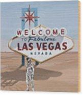 Leaving Las Vegas Wood Print