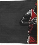 Lebron James Wood Print