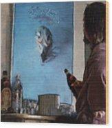 Lebwoski Makes His Peace With The Eagles - The Big Lebowski Wood Print