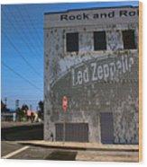 Led Zeppelin I Wood Print