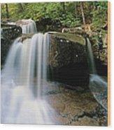 Ledge Brook - White Mountains New Hampshire Usa Wood Print