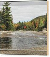 Ledge Falls Hollow, Framed Wood Print