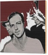 Lee Harvey Oswald Dallas Police Station Dallas Texas Unknown Photographer 1963-2016 Wood Print
