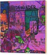 Lee Sidewinder Morgan Wood Print