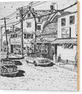 Leeside Tavern Wood Print