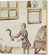 Leg Surgery, 1675 Wood Print