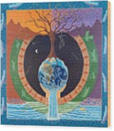 Legacy Mandala Wood Print