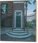 Legare Entrance Wood Print