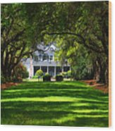 Legare Waring House Charleston Sc Wood Print