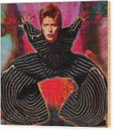 Legend Of Bowie  Wood Print
