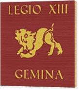 Legio Xiii Gemina Wood Print