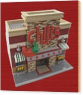 Lego Chili's Restaurant Wood Print