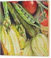 Legumes Wood Print