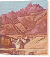 Leh, Ladakh Wood Print
