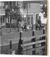 Leiden Wood Print