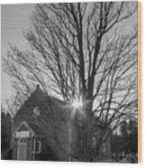 Leith Presbyterian Church Wood Print