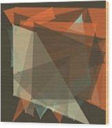 Lemans Polygon Pattern Wood Print