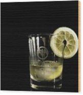 Lemon Bacardi  Wood Print