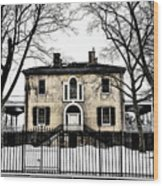 Lemon Hill Mansion - Philadelphia Wood Print