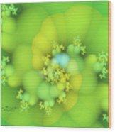 Lemon Juice Wood Print