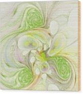 Lemon Lime Curly Wood Print