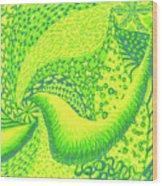 Lemon Lime Wood Print