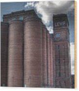 Lemp Brewery Wood Print