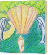 Lemuria Atlantis Wood Print