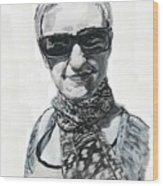 Lena Noble, Portrait Wood Print