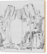 Lener String Quartet Wood Print by Granger