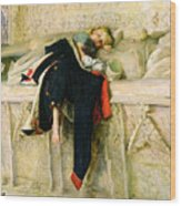 L'enfant Du Regiment Wood Print by Sir John Everett Millais