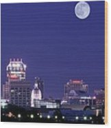 Lengthy Indianapolis Wood Print
