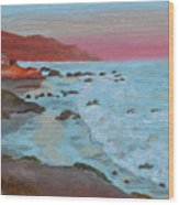 Leo Carillo Beach Afternoon II Wood Print