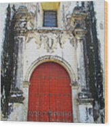 Leon Cathedral 9 Wood Print